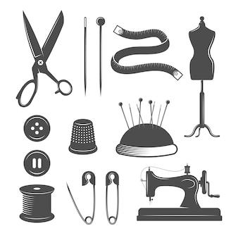 Conjunto de elementos de alfaiate