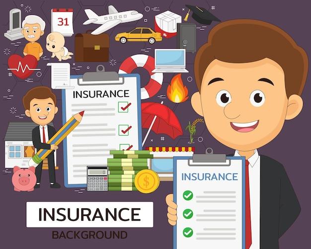 Conjunto de elementos de seguro