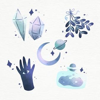 Conjunto de elementos esotéricos