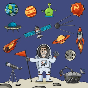 Conjunto de elementos espaciais