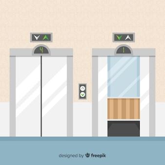 Conjunto de elevadores