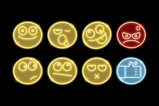 Conjunto de emoji diferente