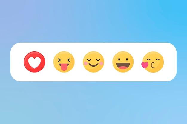 Conjunto de emojis mistos