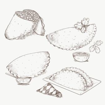 Conjunto de empanadas