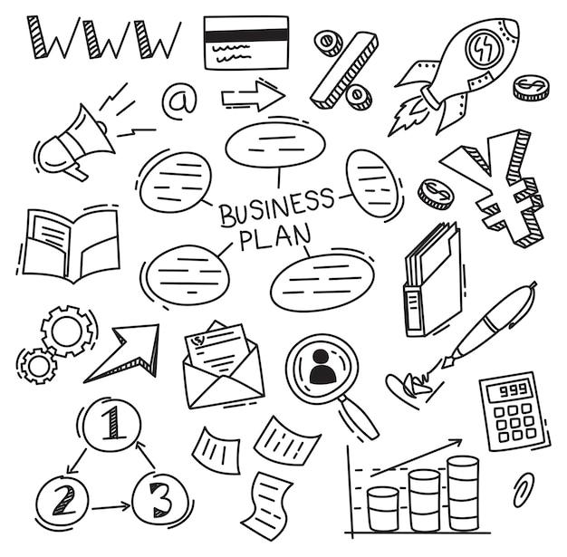 Conjunto de empresas doodle
