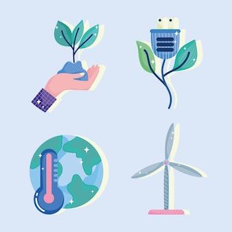 Conjunto de energia verde