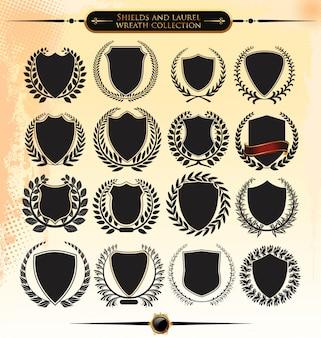 Conjunto de escudo