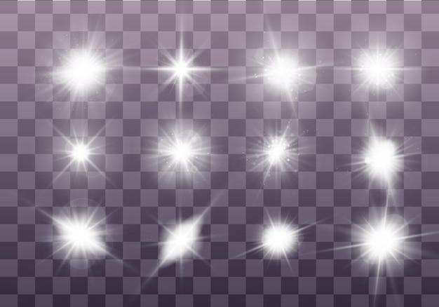 Conjunto de estrela brilhante.