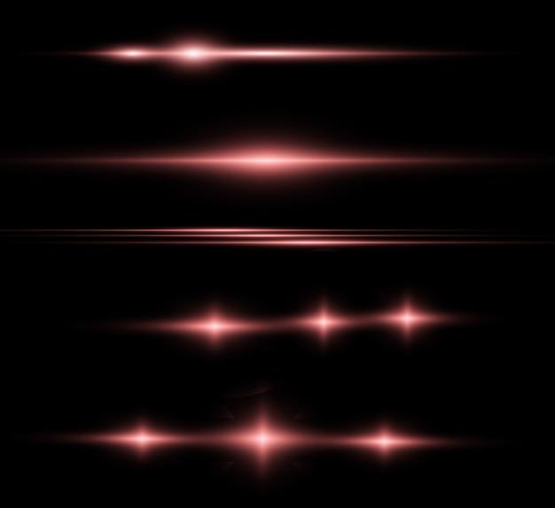Conjunto de estrelas lindas brilhantes brilhando belos gráficos de luzes.