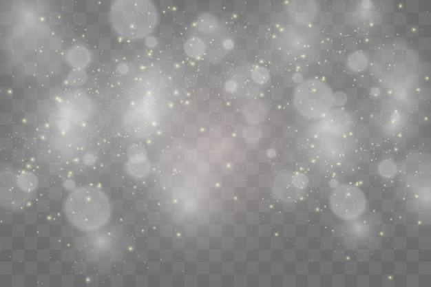 Conjunto de estrelas lindas brilhantes. efeito de luz. estrela brilhante. bela luz para ilustrar.