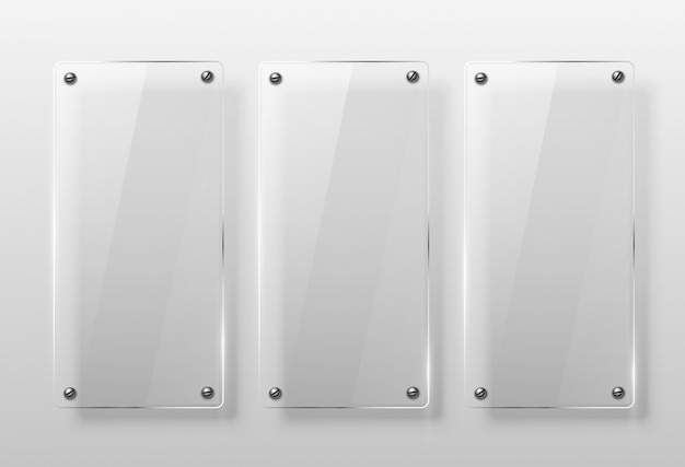 Conjunto de estrutura de vidro