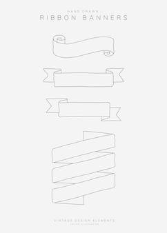 Conjunto de faixa de fita
