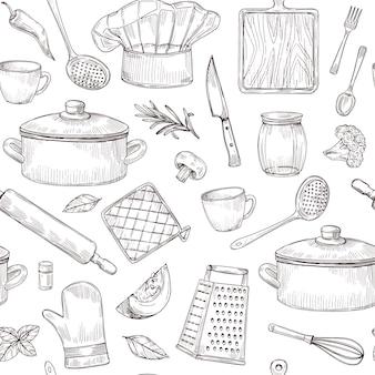 Conjunto de ferramentas de cozinha