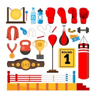 Conjunto de ferramentas de equipamento de boxe