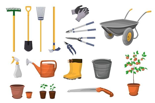 Conjunto de ferramentas de jardinagem