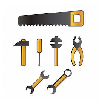 Conjunto de ferramentas isoladas