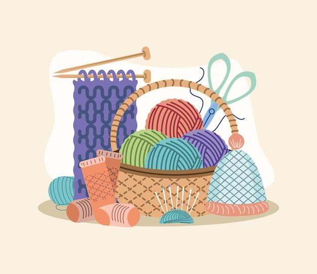 Conjunto de ferramentas para tricô