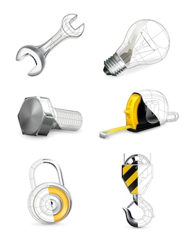 Conjunto de ferramentas,