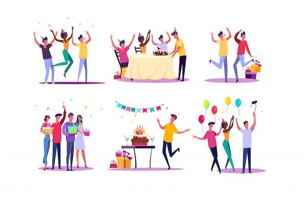 Conjunto de festa de aniversário