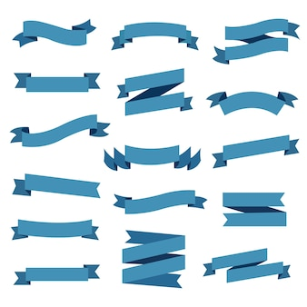 Conjunto de fita azul