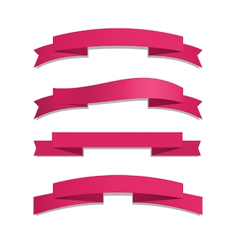 Conjunto de fita rosa