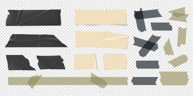 Conjunto de fitas adesivas