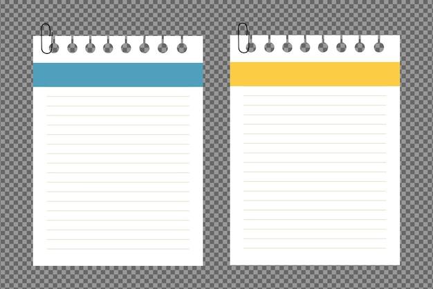 Conjunto de folhas de papel a4, com sombras, página de papel realista