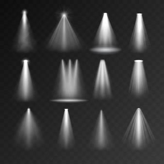Conjunto de fontes de luz