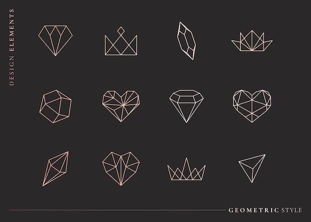 Conjunto de formas geométricas