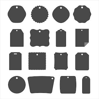 Conjunto de formatos de tag de preço