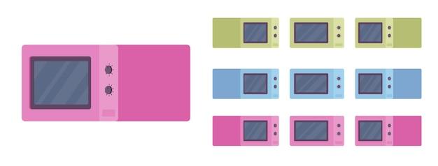 Conjunto de forno micro-ondas