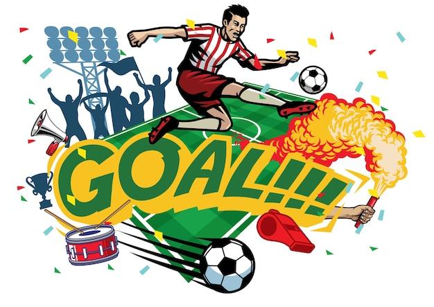 Conjunto de futebol