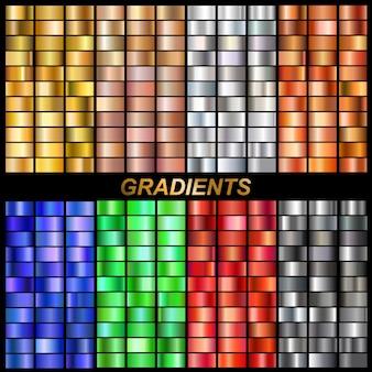 Conjunto de gradientes de vetor