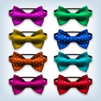 Conjunto de gravata borboleta