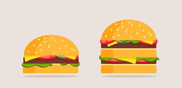Conjunto de hambúrgueres