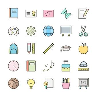 Conjunto de ícones da web para uso pessoal e comercial.