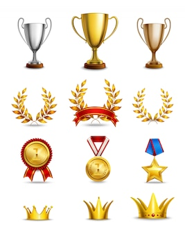 Conjunto de ícones de classificação