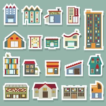 Conjunto de ícones de construção