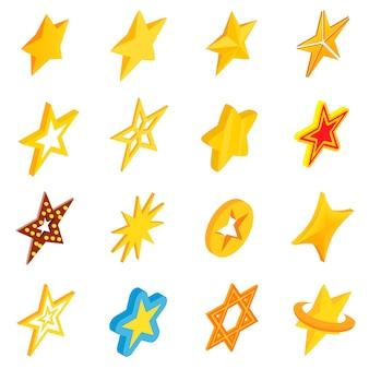 Conjunto de ícones de estrelas