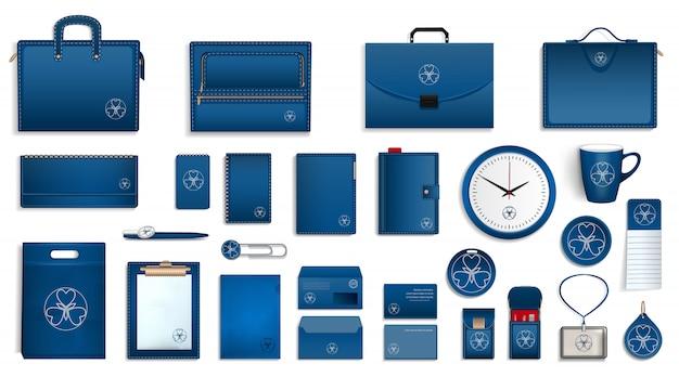 Conjunto de ícones de marca