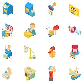 Conjunto de ícones de transmissão de voz