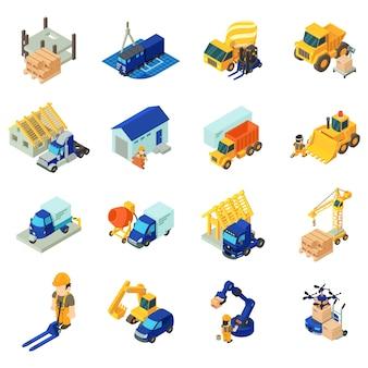 Conjunto de ícones de transporte