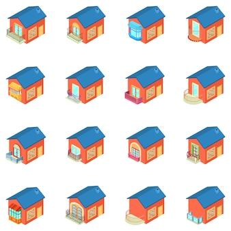 Conjunto de ícones de varanda