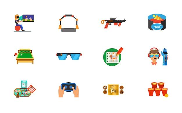 Conjunto de ícones do ciberespaço