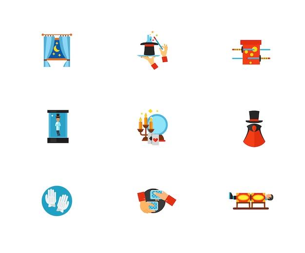 Conjunto de ícones mágicos