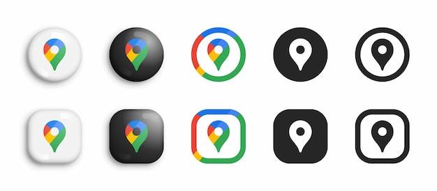 Conjunto de ícones modernos