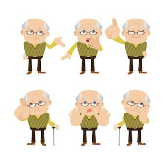 Conjunto de idosos