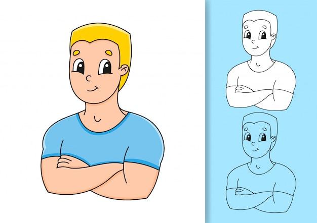 Conjunto de ilustrações em fundo branco e colorido.