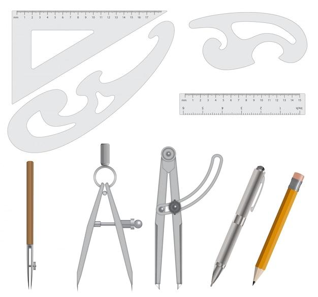 Conjunto de instrumentos de medição