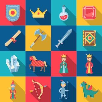 Conjunto de jogos de conto de fadas